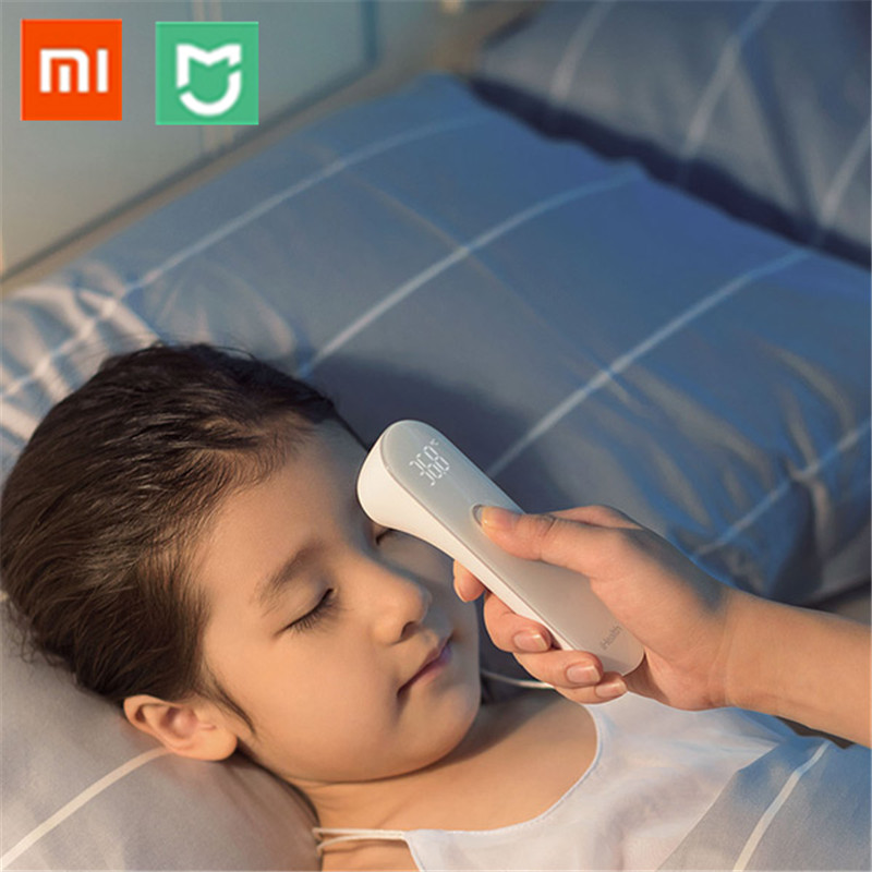 Xiaomi Mijia iHealth Thermometer Accurate LED Digital Fever Infrared Clinical Thermometer Non Contact Tester with Box & Battery clinical