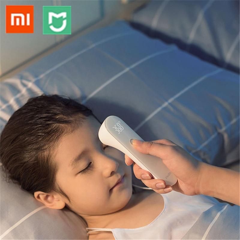 Xiaomi Norma Mijia iHealth Termometro Accurate LED Febbre Digitale A Infrarossi Termometro Clinico Senza Contatto Tester con la Scatola e Batteria