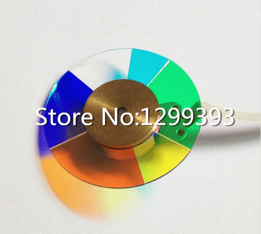 Projector color wheel for   Acer P7203  Free shipping projector color wheel for benq w1000 p n oc cw 6ba ad176
