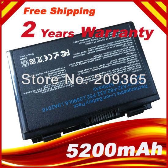 Batteria del computer per asus k40 k40e k40ij k40in a32-f82 nuovo f52 f82 k70asBatteria del computer per asus k40 k40e k40ij k40in a32-f82 nuovo f52 f82 k70as