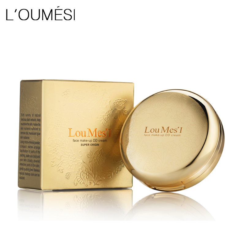 Loumesi DD cream concealer cream Oil-Control Scars Freckles Black Eye Full Cover Makeup Face Base Foundation free shipping free shipping face makeup