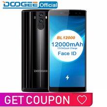 Doogee bl12000 smartphone 12000 mah carga rápida 6.0 18 18 18: 9 fhd + mtk6750t octa núcleo 4 gb ram 32 gb rom quad câmera 16.0mp android 7.1