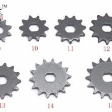 Большие размеры 9, 10, 11, 12, 13, 14, 15 лет, зуб 9, 10, 11, 12, 13, 14 лет 15 T T8F звездочки 10 мм для бритвенного станка EVO IZIP 500W 1000W электрический скутер