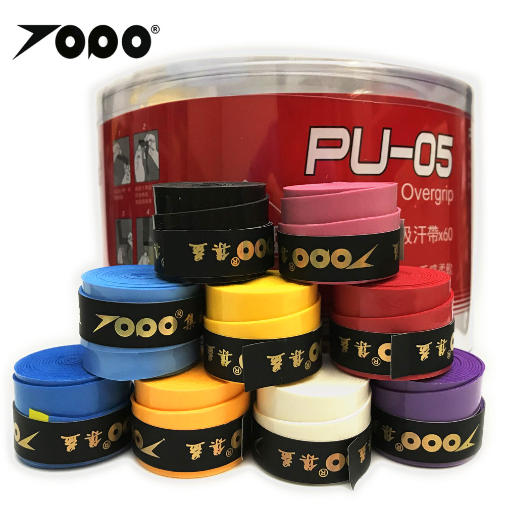 40pcs/lot TOPO PU-05 Tacky Feel Overgrip/grip/tennis/badminton Racquet