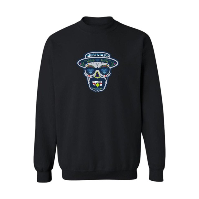 Legend fashion Heisenberg Breaking Bad Sweatshirt Men Color Gray/Black Mens Hoodies and Sweatshirts 2016 for Street wear