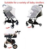 Baby Winkelwagen Klamboe Insect Shield Zuigelingen Bescherming Mesh Kinderwagen Accessoires Voor 90% Kinderwagen Kinderwagen Klamboe 5