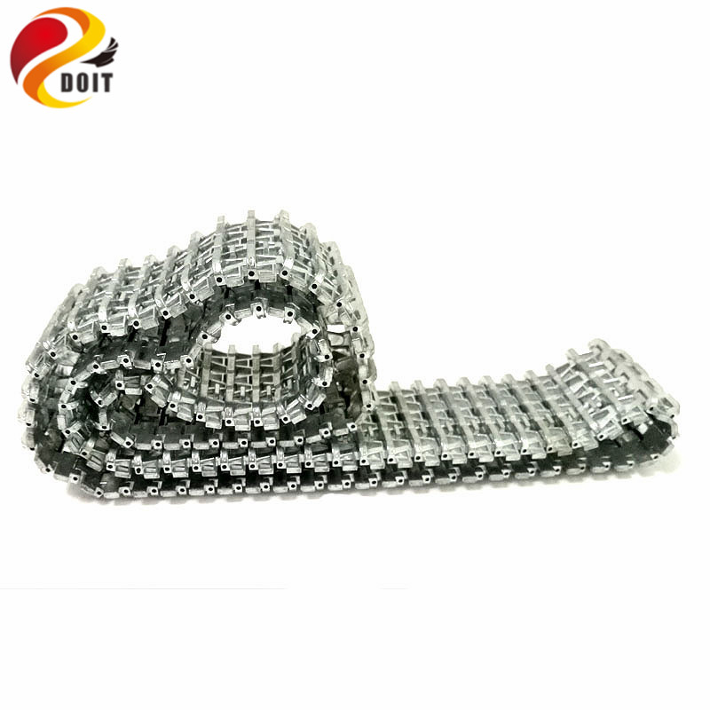 Metal Tracks Caterpillar Crawler Chain 61cm For 3818/3818-1 RC Tank Parts Heng Long 1/16 Tiger I Tank Car Chassis