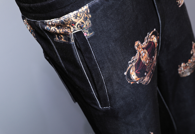 Elastic Waist Pants Trousers 4