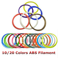 High Quality Smooth 1 75 Mm ABS Filament For 3D Printing Pen ABS Material For