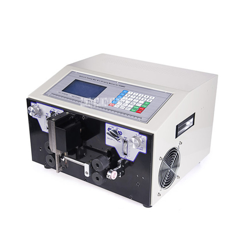 SWT508-JE2 High-quality Automatic Computer Wire Stripping Machine/Cutting Machine 110V/220V 300W 4000-7000 Strips/Hour 0.1-10mm2