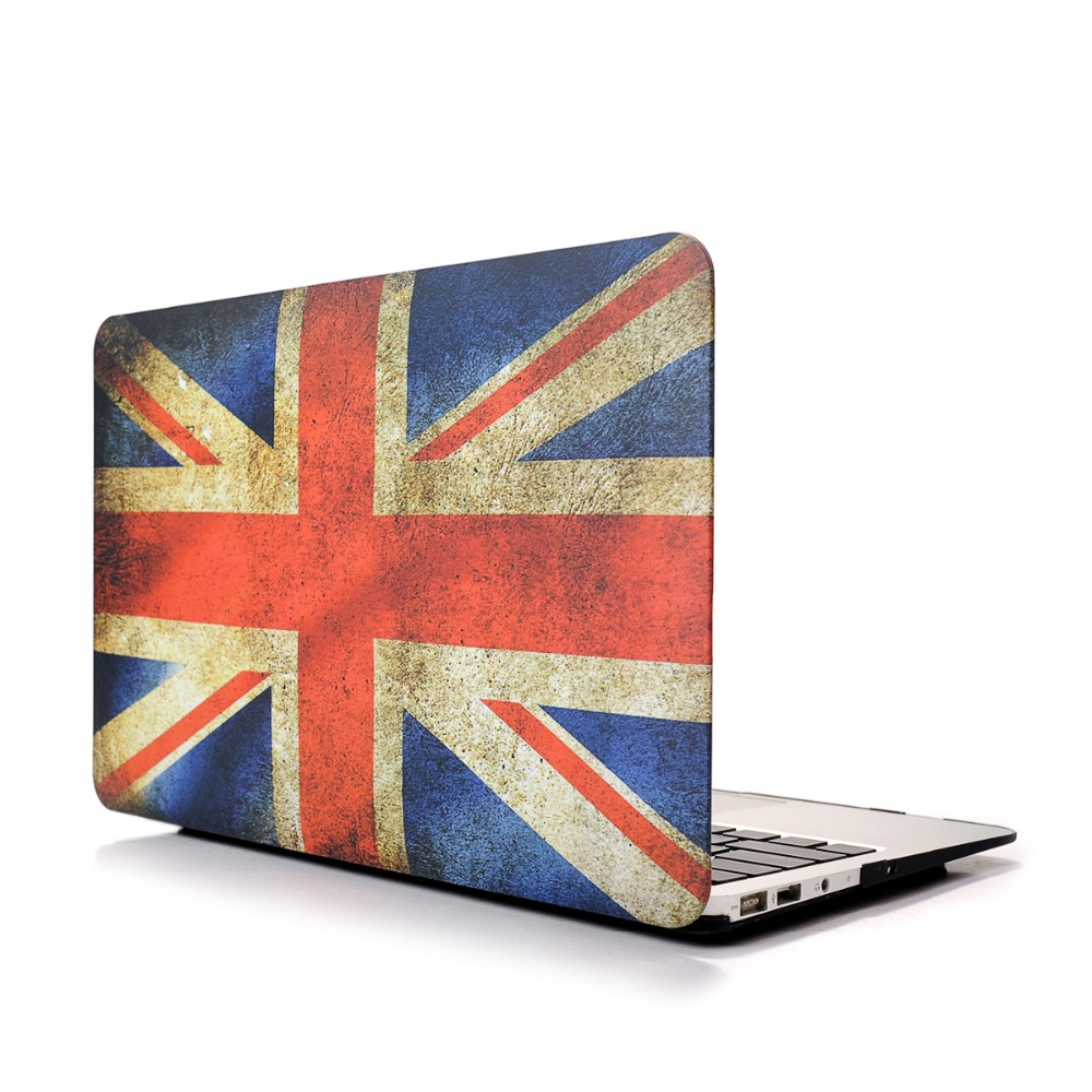 Hard Case Protector With United Kingdom flag Style For MacBook Air 11 13 inch Pro 13 15 inch Pro retina 13 15 inch