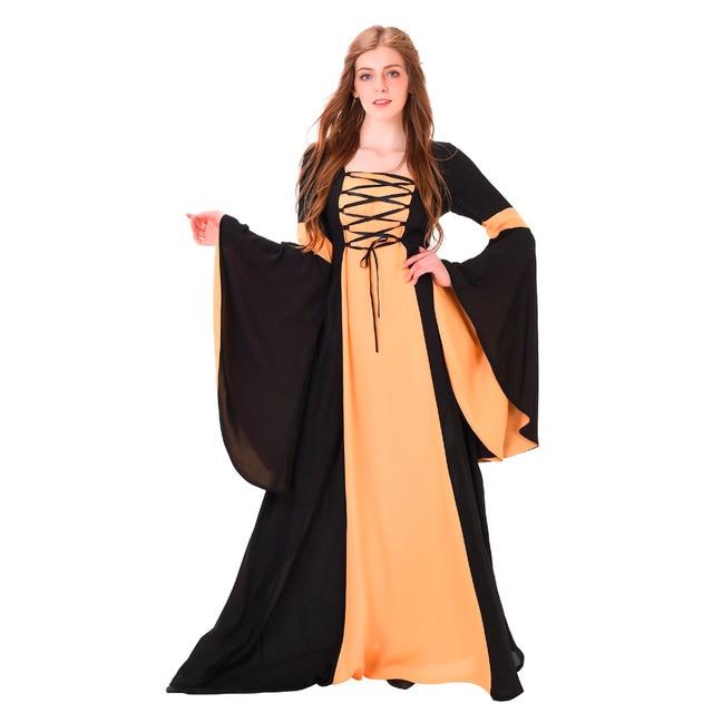 pretty nice 01476 0e320 Femmes-Robe-M-di-vale-Robe-Vintage-Royal -M-di-vale-Renaissance-Gothique-Victorien-Robe-Noir.jpg 640x640.jpg