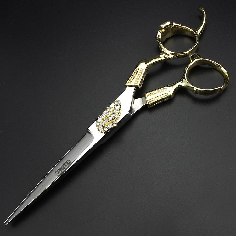 6 inch high quality haircutting scissors barber shop supplies hairdressing tool thinning shears for hair salon professionals 6 inch sharp hairdressing shears hair scissors set barber tool for hair salon professionals for hairdresser to make coiffure