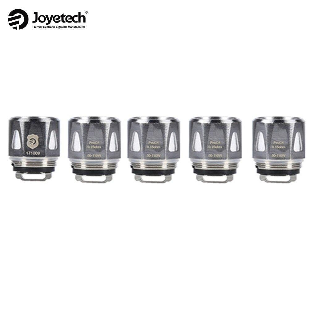 5pcs Original Joyetech ProC Coils Head for Joyetech ProCore Aries Atomizer proc1 proc2 proc3 proc4 Electronic E Cig Tank Coil все цены