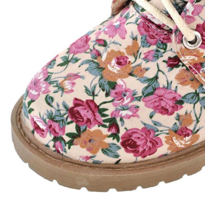 Botas Mujeres Tacón Las Martin Grande De rosado Wbs866 Tamaños Covoyyar Otoño Negro Flor 2019 Media Mujer Bajo Zapatos Pantorrilla Invierno 144pw5zqx