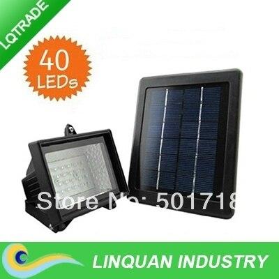 New high brightness 40 LED solar omni/solar project-light lamp/solar street lamps/lighting