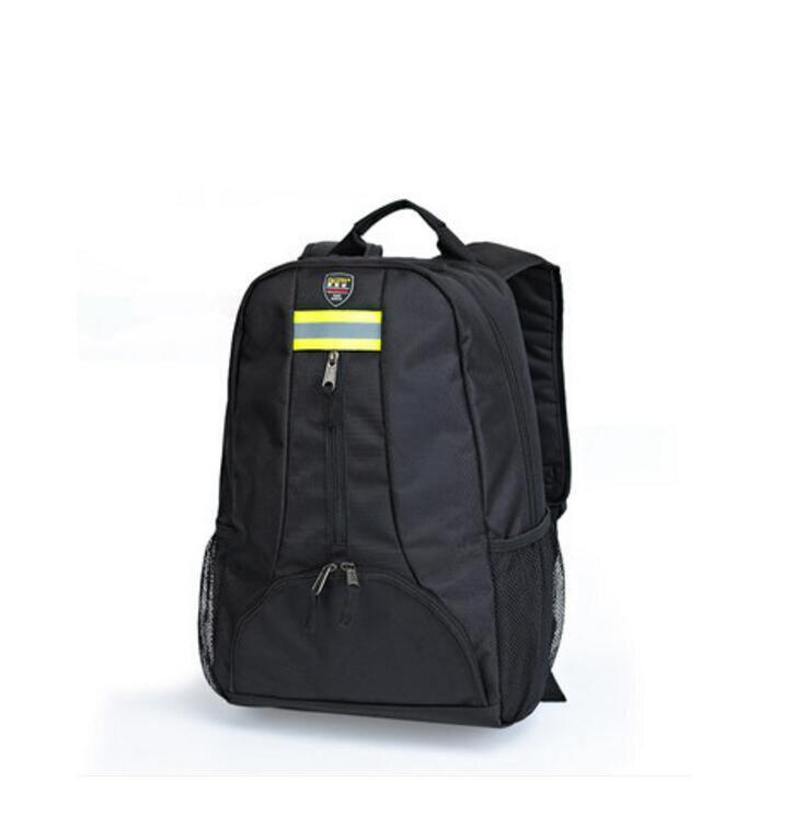 4789dd3b82b56 Oxford Aracı Kumaş sırt çantası çok fonksiyonlu Açık sırt çantası  Elektrikçiler Alet Çantası Siyah