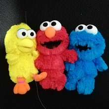 16CM Sesame Street Elmo Cookie Monster Big Bird Plush Toys Soft Doll Kids Gift