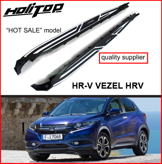 for Honda HR-V HRV VEZEL side step side bar /running board,