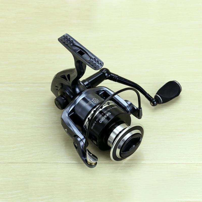 2000-7000 Spinning Reel Fishing 13 + 1 Ložiskové kuličky Levá / - Rybaření - Fotografie 5