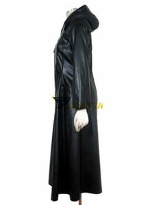 Image 3 - Kingdom Hearts 2 Organizasyon XIII Siyah Ceket Robe Cosplay Kostüm Custom Made