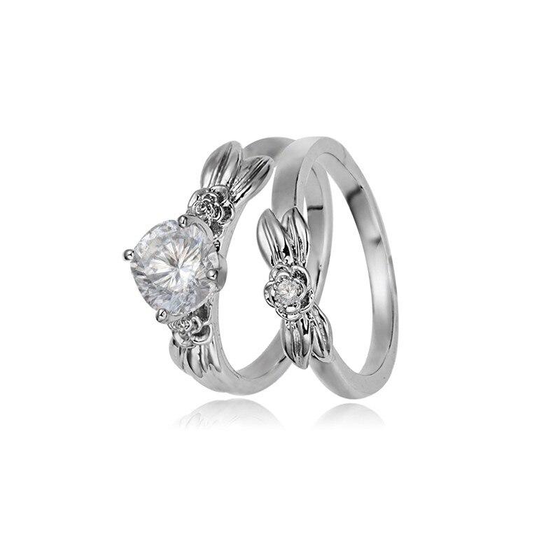 Hochzeits- & Verlobungs-schmuck Jexxi Cham Bague Bijoux Femme Jewerlry 925 Sterling Silber Hochzeit Verlobung Ringe Für Frauen Vintage Weiblichen Party Ring Verlobungsringe