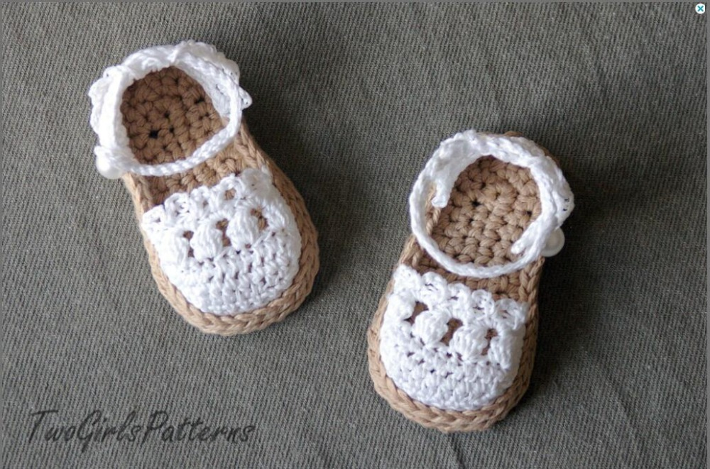 Baby sommer shoes, barfuß sandalen häkeln babyschuhe, häkeln baby ...