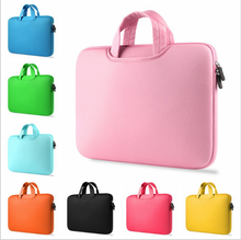 2017 Fashion 11 12 13 14 15 15.6 inch Laptop Bag Case Computer Sleeve Briefcase Men Women for Macbook Air Pro Case