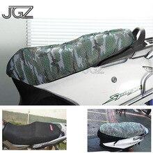 Чехол для сиденья мотоцикла с дышащей изоляцией, солнцезащитный крем, водостойкая подушка, подушка, протектор, сетка для Vespa GTS, скутер, Yamaha, Honda