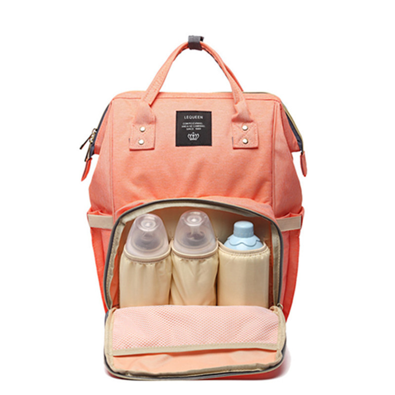 Diaper Bags Mummy Mother Backpack Nappy Large Capacity Multi-Function Stroller Shoulder Bag Accessories 2019 Hot Sale FashionDiaper Bags Mummy Mother Backpack Nappy Large Capacity Multi-Function Stroller Shoulder Bag Accessories 2019 Hot Sale Fashion