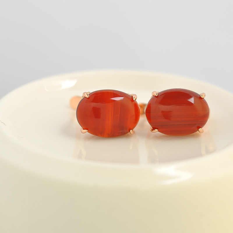 ISHOWLEE צבעים בוהקים אבנים גדולות 585 זהב עגילי תכשיטי נשים אביזרי עם שחור אבנים & אופל עגילי תכשיטי esp19