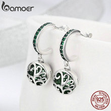 Authentic 925 Sterling Silver Tree of Life Green Crystal AAA CZ Jewelry Set