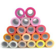 Baby Show Tulle Roll 5cm 15cm 25Yards Fabric Spool Tutu Party Birthday Gift DIY Wrap Wedding Decoration Supplies