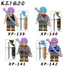Single Building Blocks Dragon Ball Z Torankusu Cartoon Series Broli Vegeta Son Burdock model brick kids toys for children(China)