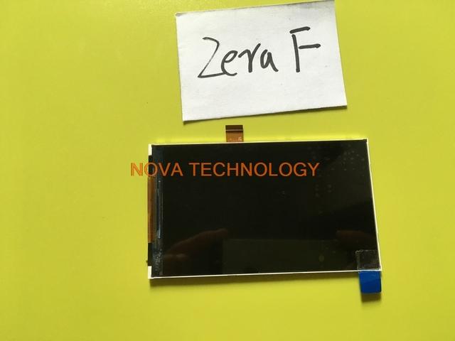 Para Highscreen Zera F rev. B/rev. A Substituição Display LCD Tela Peças NÃO Painel Do Sensor; com Número de Rastreamento