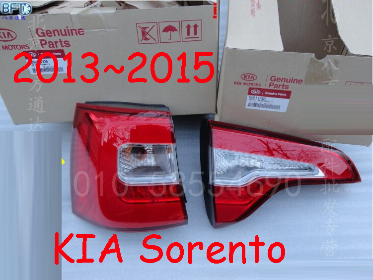 car-styling,Sorento Taillight,2013~2015,Free ship!4pcs,Sorento fog light;chrome,Sorento tail lamp,car-detector,Sorento car styling yukon taillight 2015 2017 2pcs set led free ship yukon fog light chrome yukon tail lamp car detector yukon