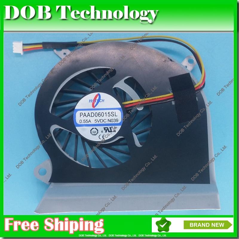 New Fan For MSI GP60 GE60 16GA 16GC series 3pin A166 laptop CPU Cooling Fan new original cpu cooling fan for msi ge60 ms 16ga 16gc ms 16gh ms 16gf ms 16gd dc brushless laptop cooler radiators cooling fan