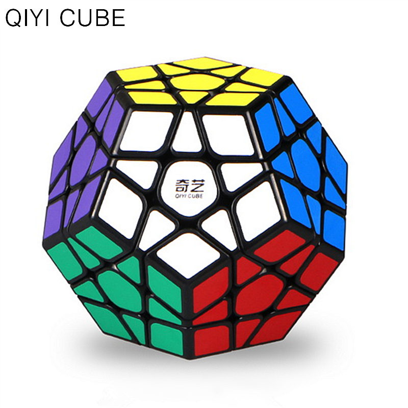 QiYi QIZheng S Megaminxeds Magic Speed Cube Profession Stickerless Qi Zheng 12 Sides Puzzle Cubes Educational Toys For Children