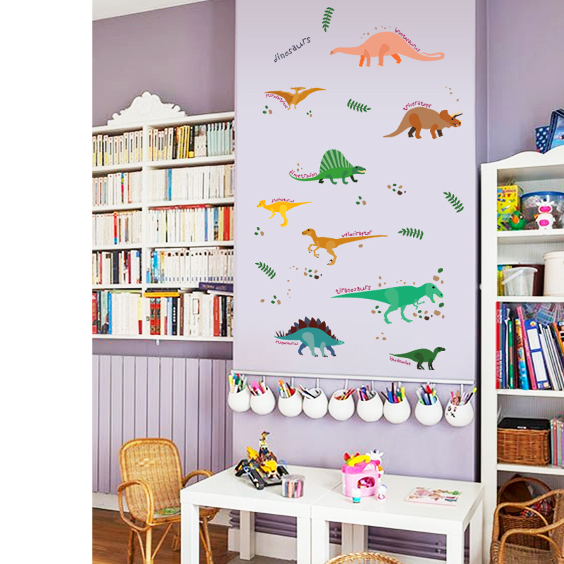 dinos-wall-sticker-dinosaurs-home-decor-for-kids-room-wall-sticker-zooyoo (3)