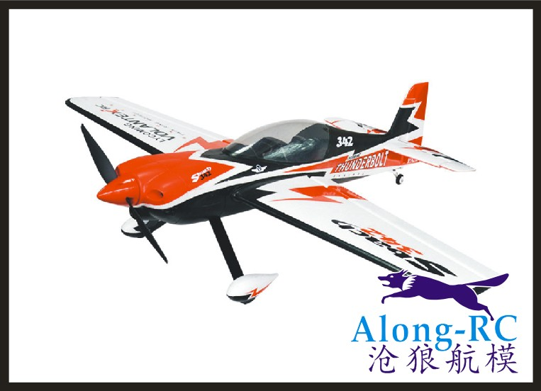 EPO PLANE  RC Plane 3D Airplane Sbach342 Thunderbolt Wingspan 1100mm  F3D Aerobatic  756-1 342 (have PNP Set  Or KIT Set)