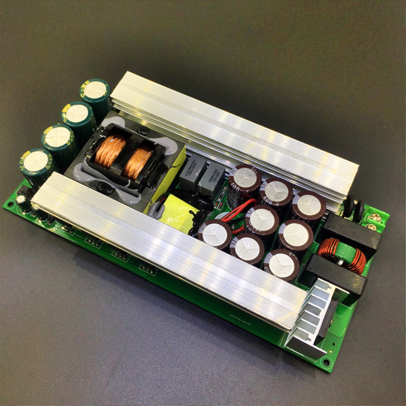 2000W High efficiency LLC soft switch Amplifier audio power supply board AC220V enter Output voltage: 80V independent 12V
