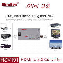 MiraBox Mini 3g HDMI To SDI Converter Full HD 1080P HDMI to SDI Adapter Video Converter for Driving HDMI Monitors HMDI to BNC