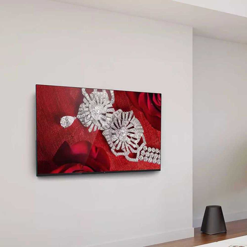 تلفاز شاومي 4 55 بوصة 4K تلفاز ذكي فائق النحافة مع مثبت على الحائط وسطح المكتب إطار معدني ضيق للغاية 2 جيجابايت 8 جيجابايت تلفاز ذكي