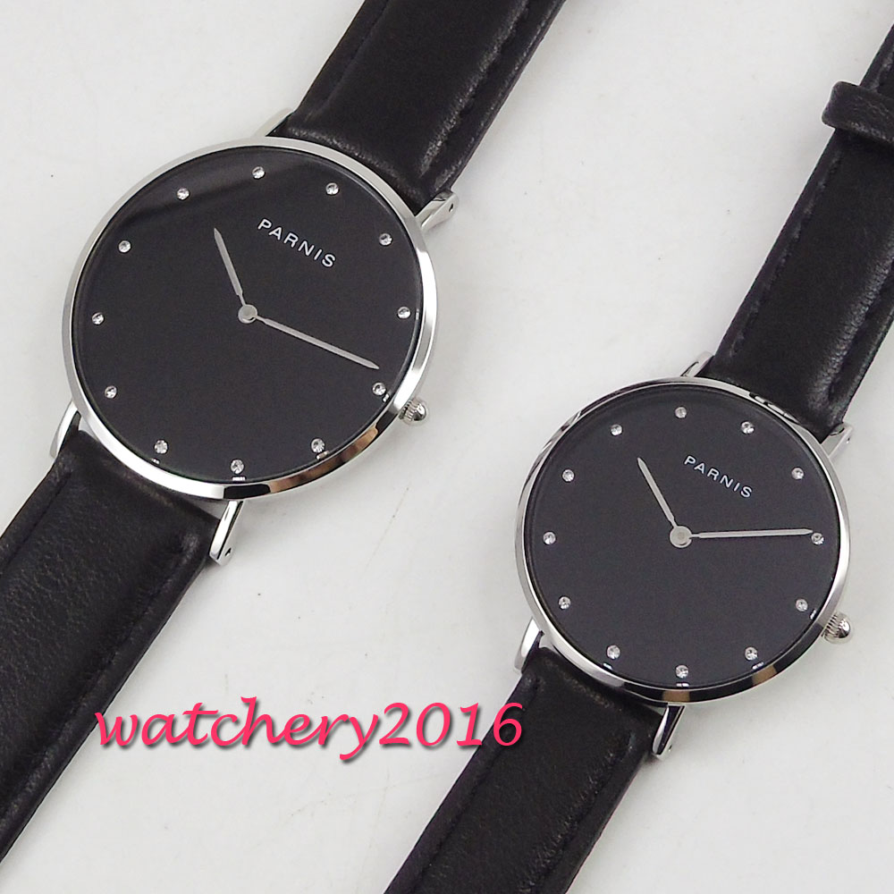 New Relogio Couples Watch Simple Leather Quartz Watch Mens Ladies Fashion Sport Clock Men's Watches Women's Watches Gifts
