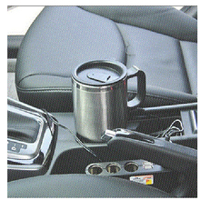 DMWD 12V Stainless Steel electric car use Kettle Travel mini Auto water heating cups tea coffee milk boiling cup Hot Thermo Mug
