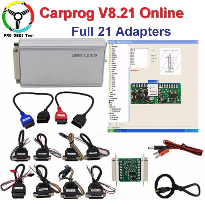 Carprog V8.21 Online Neue Version Auto Reparatur Werkzeug Vollen ...