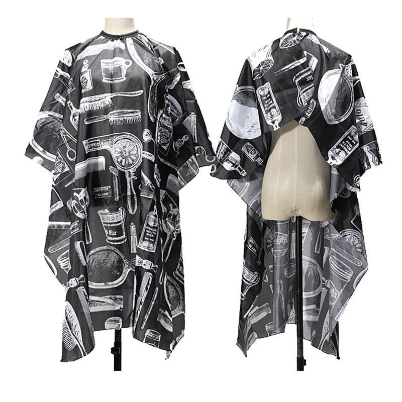 Best Selling 2018 products Pattern Cutting Hair Waterproof Cloth Salon Barber Cape Hairdressing Hairdresser Apron Haircut capes ...