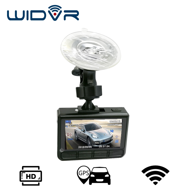 WIDVR W907 dash camera GPS WIFI Novatek 96658 avtoregistrator Full HD 1080P Car dvr 2.4 IPS Screen Car Recorder Dash cam бра reccagni angelo a 5400 2