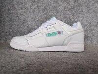 Reebok Sports Men's Classic Renaissance Sneaker Soft WORKOUT PLUS ATI Training Shoes CLUB C 85 Sneakers women