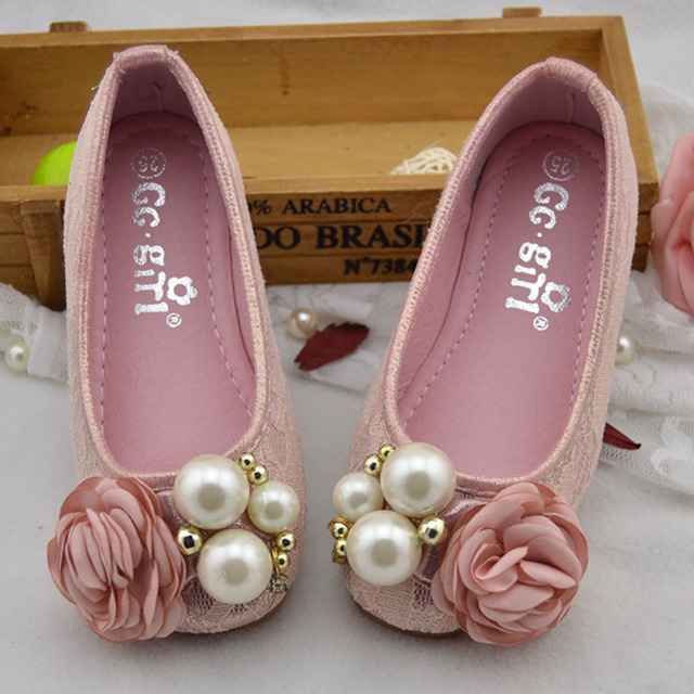 2017 New Flower Baby Party Shoes Slip On Toddlers Girls Princess Shoes For Wedding Infant Girls Fancy Shoes